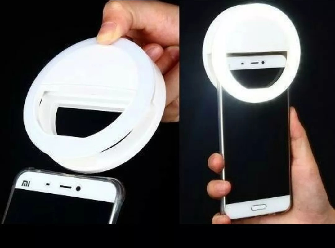 Selfie Ring Light LED para câmera celular